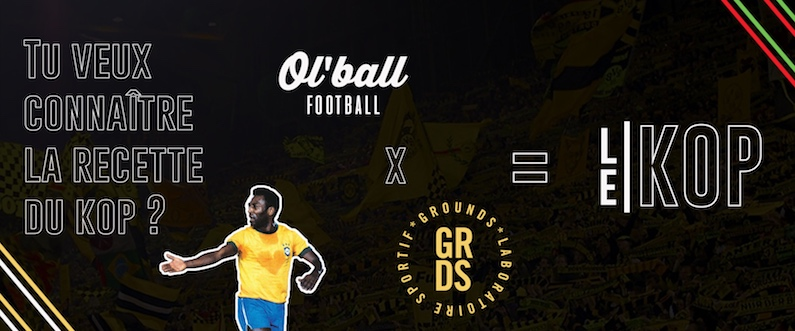 le kop média football culture lifestyle collaboration grounds et ol'ball 2