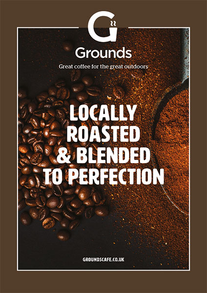 Locally-Roasted Poster