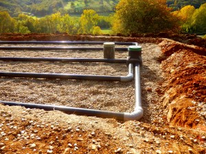 septic system for cabin