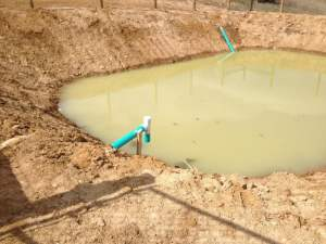 what is a lagoon septic system
