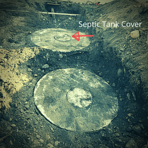 finding septic tank cover