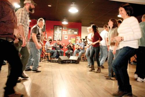 Old-Time Square Dance at the GRANGE