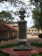 Plaque at the University of Jaffna.It was declared open by Mrs.Srimavo Bandaranaike ~ Former Prime Minister of Sri Lanka on 6th of October 1974