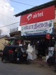 Street scene in Chaavakachcheri, Jaffna Peninsula