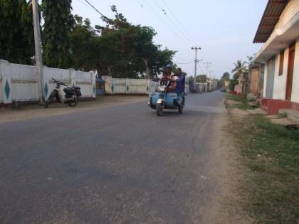 Street scene in a Muslim neighbourhood in Jaffna