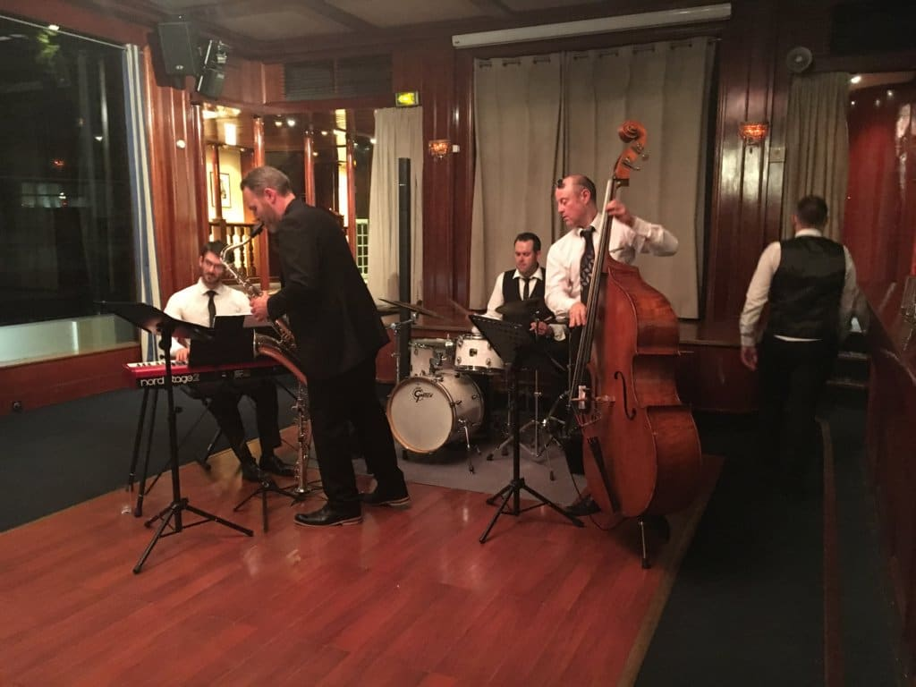 Groupe de jazz réception privée à Paris