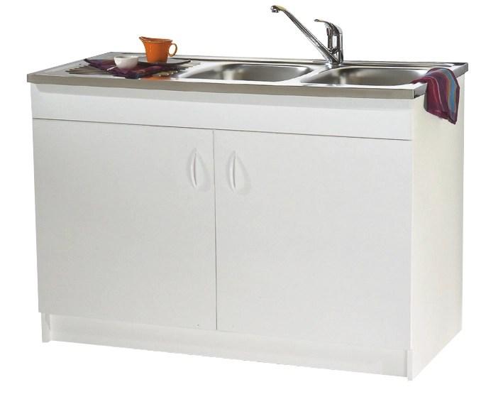 meuble sous evier progres luxe 19h hydrofuge