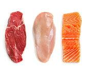 grande distribution viande et boisson