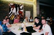Réunion d'organisation du groupe local en juin 2014