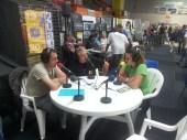 Les bénévoles interviewés par les radios locales