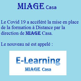 E-learning MIAGE Casa