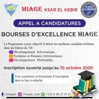 Bourses d_Excellences MIAGE-Ksar