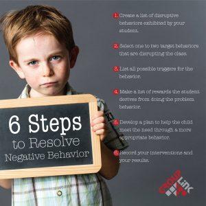 6 Steps to Correcting Problem Behavior
