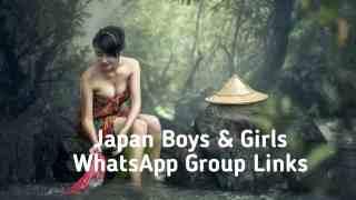 Japan Boys and Girls whatsapp group links,japan girls whatsapp group links,japan girls group links,