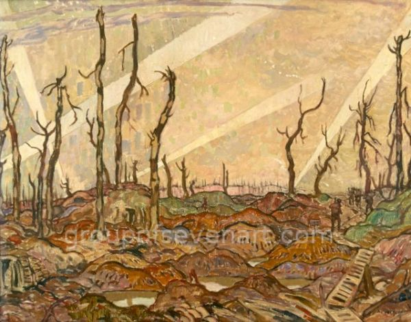 A Copse, Evening 1918