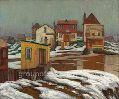 January Thaw, Edge Of Town 1921
