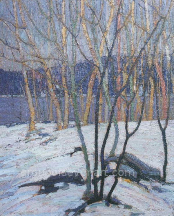 White Birch Grove 1917