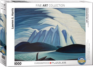 Lawren Harris Lake And Mountains Puzzle
