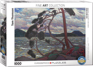 Tom Thomson The West Wind Puzzle