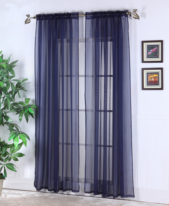 Sheer Abby Curtain Colors