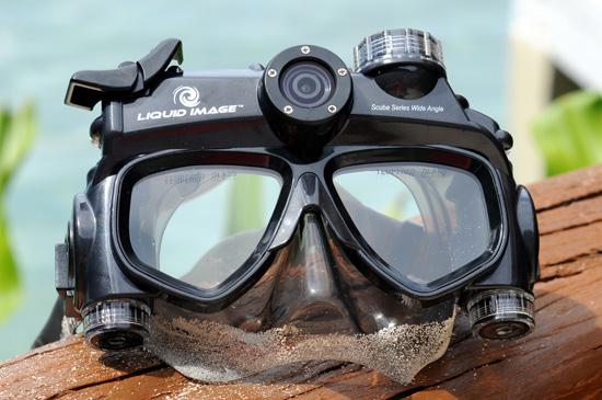 Liquid Image Underwater Camera Masks