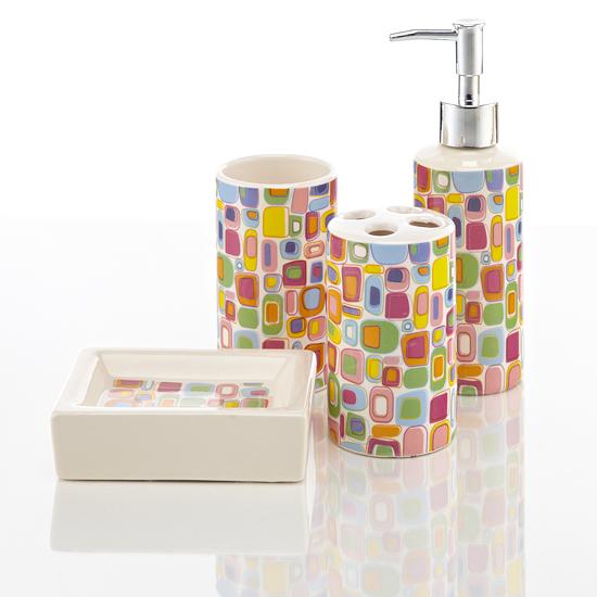 Teal Coloured Bathroom Accessories