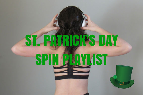 St. Patrick's Day Spinning Music Playlist & Routine (45 minutes)
