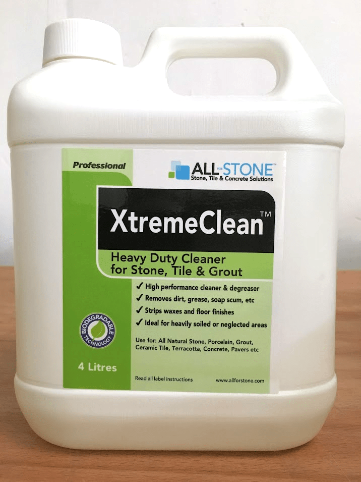 xtreme clean heavy duty tile stone grout cleaner 4 ltr