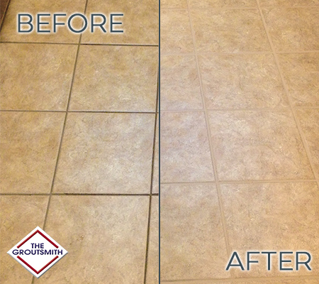 professional grout tile cleaning