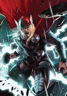 Comic book Thor