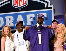 Michael Oher and family