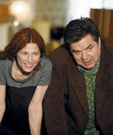 Catherine Keener and Oliver Platt in the film Please Give