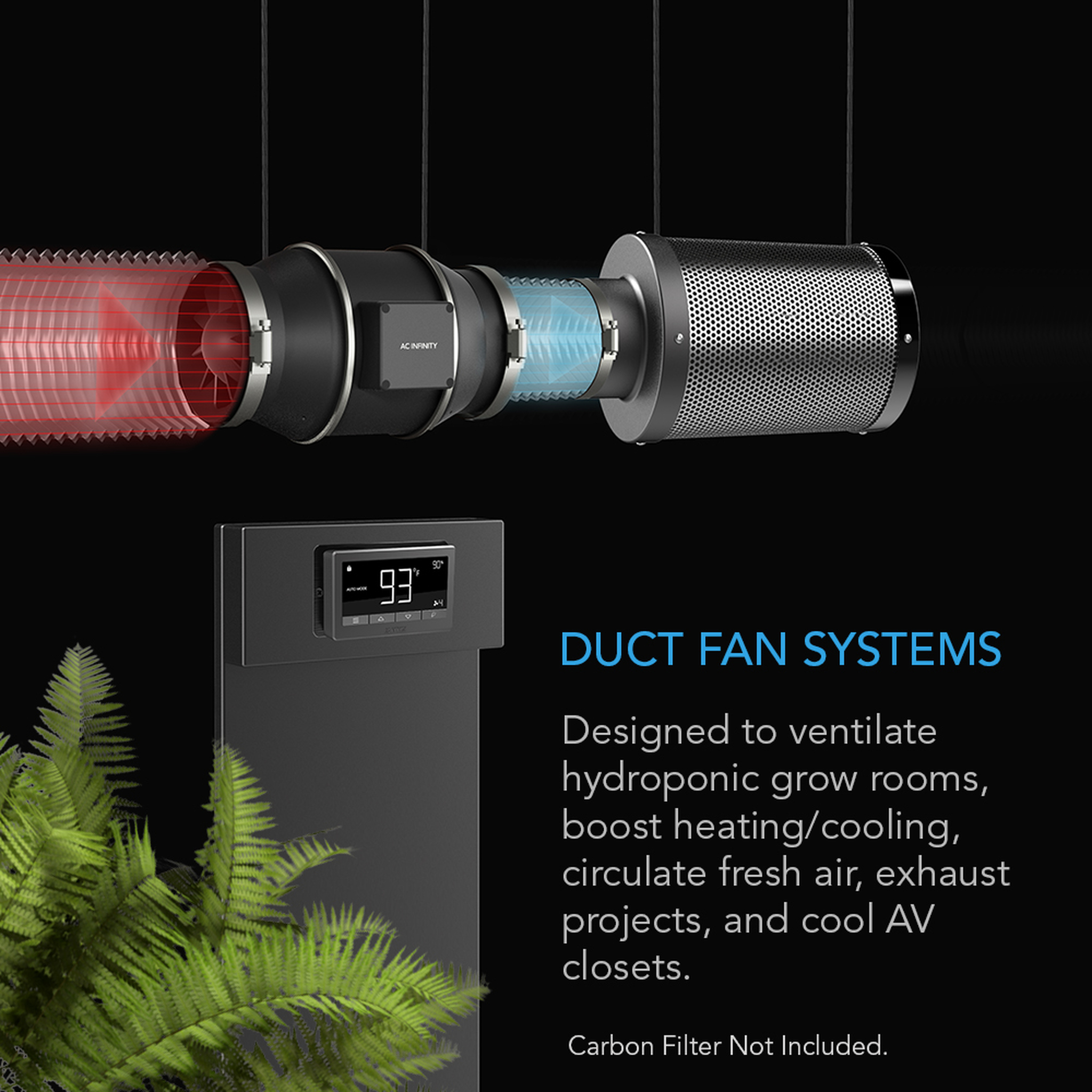 T Series Duct Fan Systems