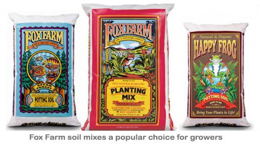 Fox farm soil mixes