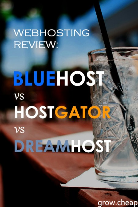 BlueHost Vs HostGator Vs DreamHost [Webhosting Review] #BlueHost #HostGator #DreamHost #WebHosting