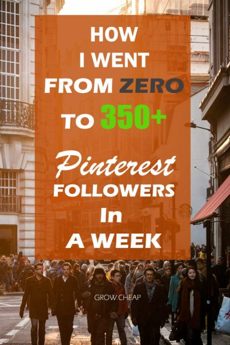 Pinterest Hack: How To Get More Pinterest Followers? #Pinterest #Blogging #Marketing