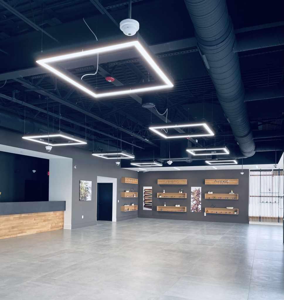 Dispensary lighting