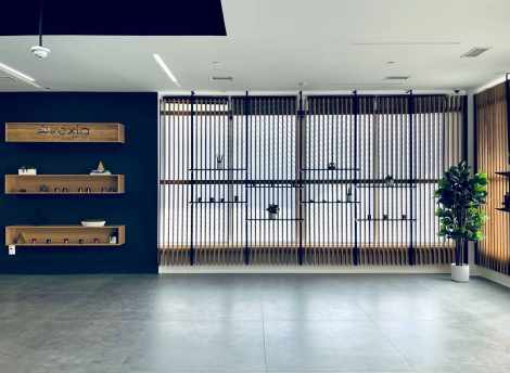 Dispensary interior