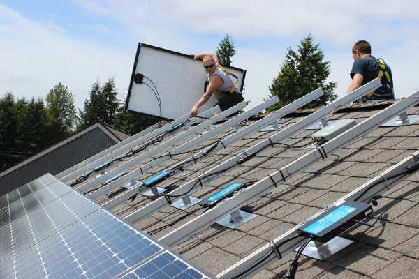 Solar Program Grow Community Bainbridge One Planet Living