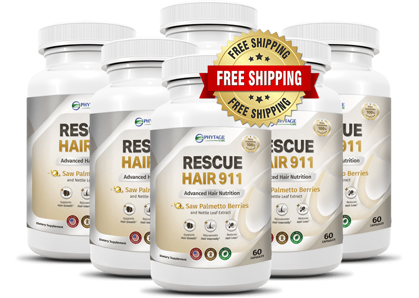 Rescue Hair 911 Review Best Hair Growth Formula in USA, CA, UK 2020