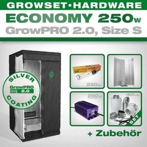 Growbox Komplettset GrowPRO S