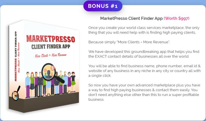 MarketPresso 2.0 Review Bonus 1