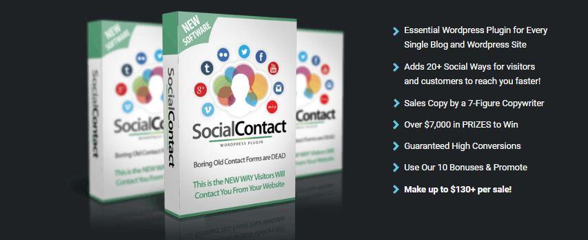 WP Social Contact