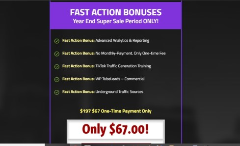 Action Bonuses
