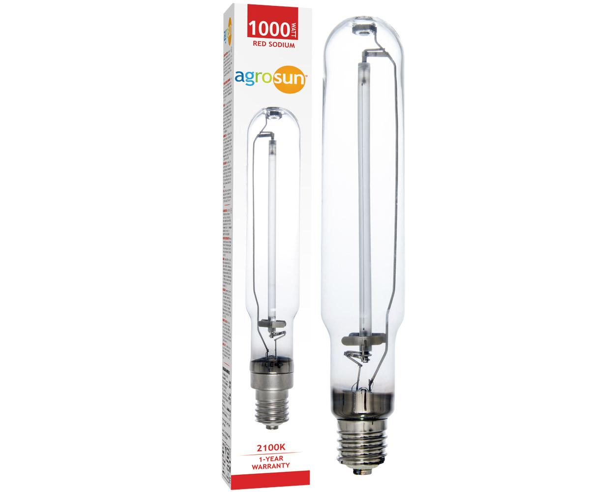 Agrosun Red Watt Hps High Pressure Sodium Lamp Bulb
