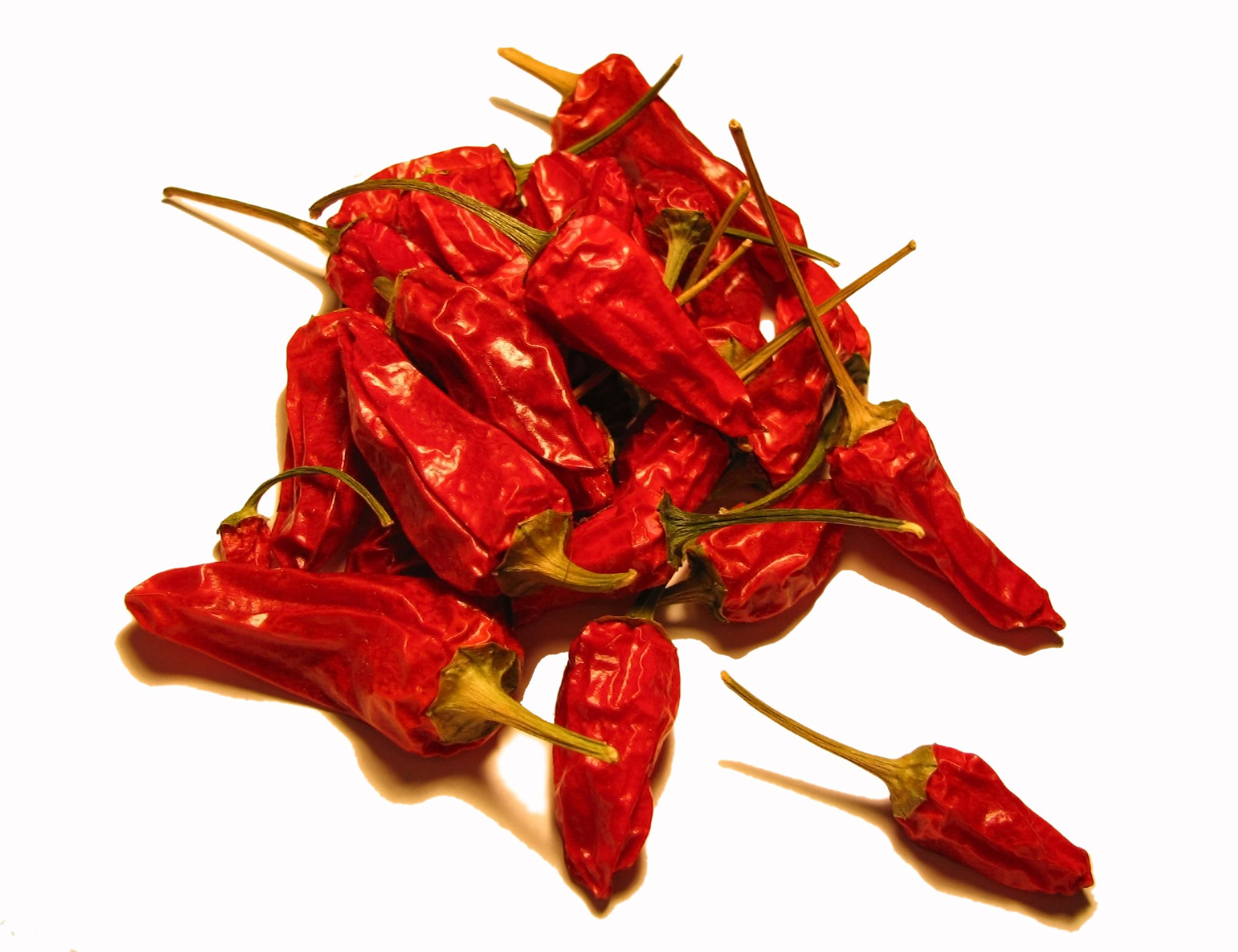 saving pepper seeds by drying peppers