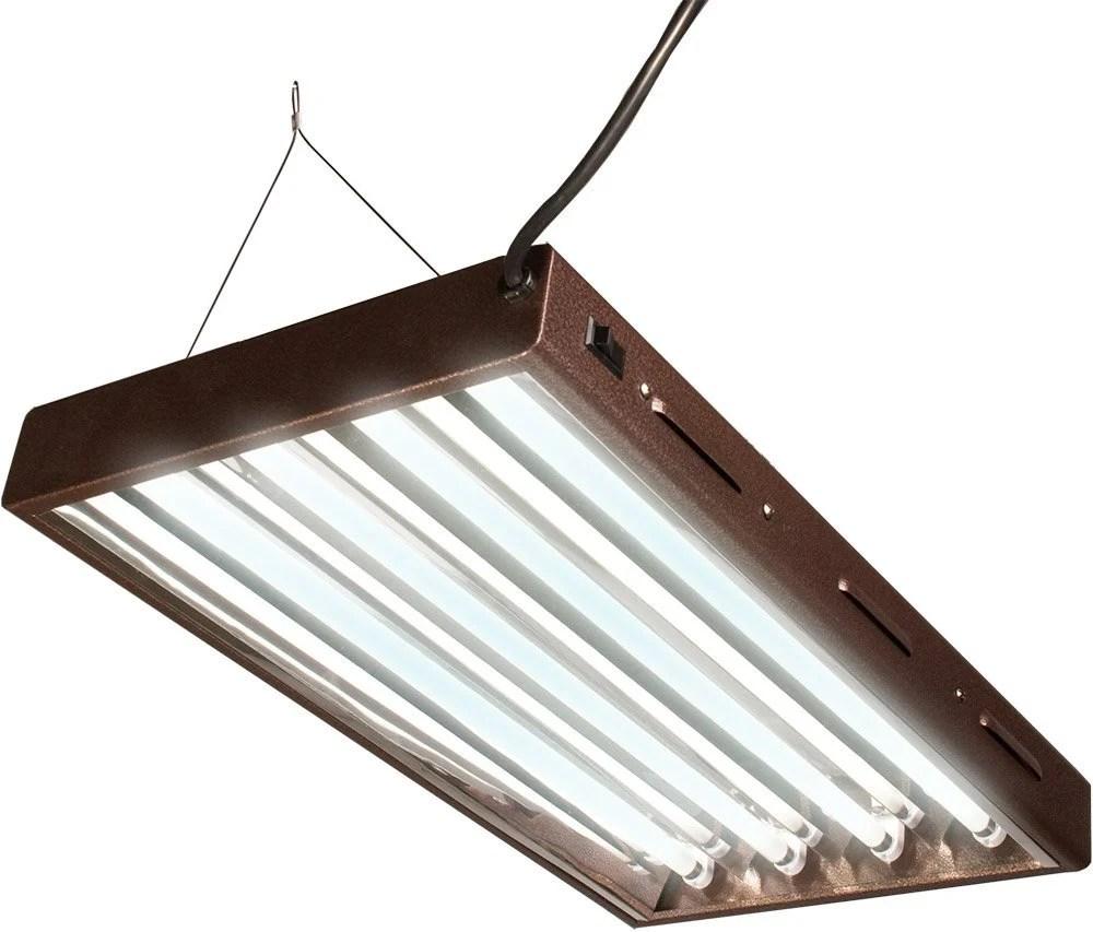 T5 Indoor Grow Light (2 FT, 4 Tube Fixture)