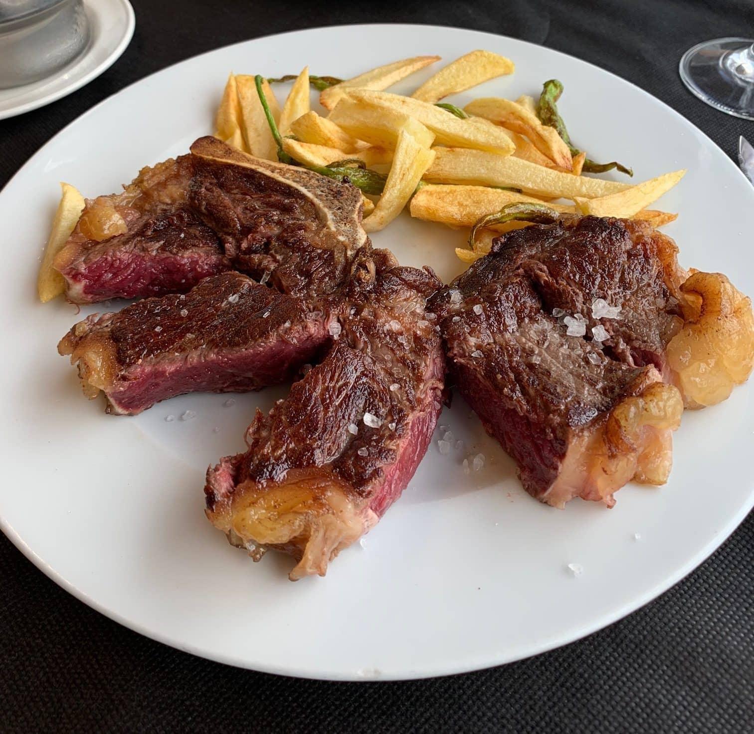 Basque Txuleta steak