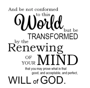 The Virtuous Life - Day 194 - Romans 12:1-2 - Do Not Conform- Growing As Disciples
