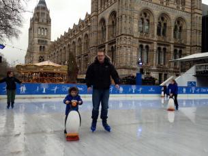 Ice skating Daddy